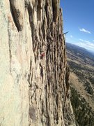 Rock Climbing Photo: Climbers on pitch 3.