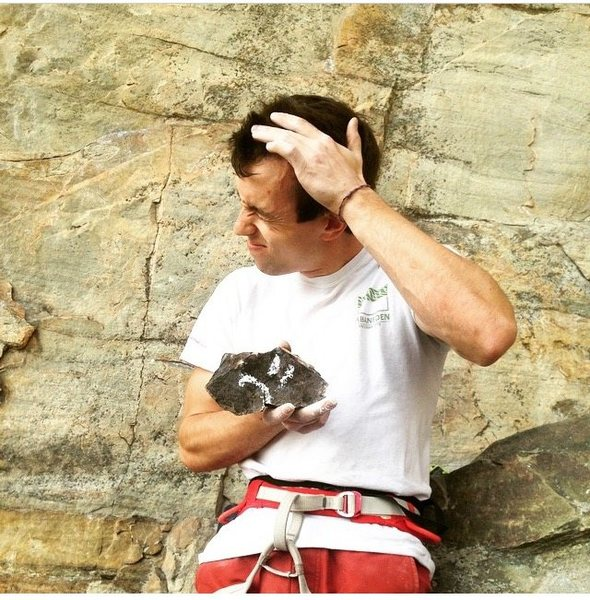 Rock Climbing Photo: Choss