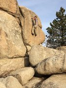 Rock Climbing Photo: solo crack