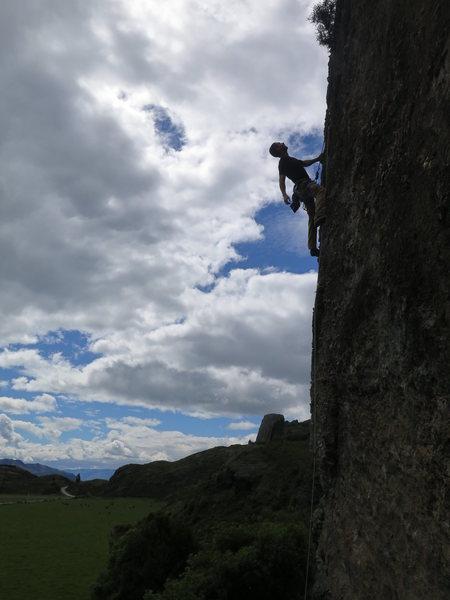 Rock Climbing Photo: Headbangers Arete