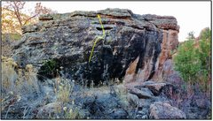 Rock Climbing Photo: Fight The Sky problem beta.