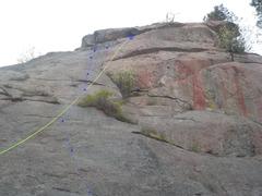 Rock Climbing Photo: Red Tide