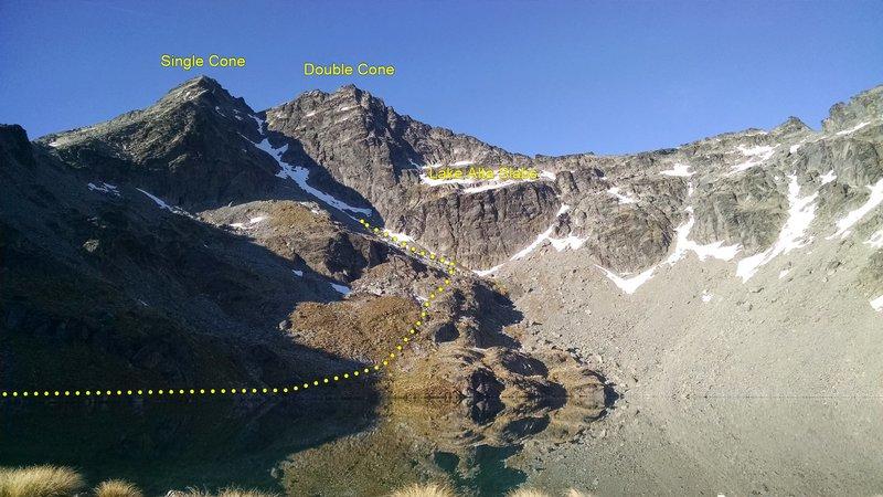 Beautiful Lake Alta
