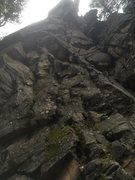 Rock Climbing Photo: LH section