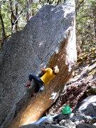 Rock Climbing Photo: The James Memorial Problem