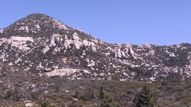 Rock Climbing Photo: Morris Ranch area. From the pods looking out towar...