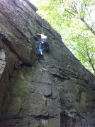 Rock Climbing Photo: Flaking Out
