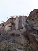 Rock Climbing Photo: Capulin Classic area.