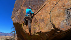 Rock Climbing Photo: Opening moves of Zorro.