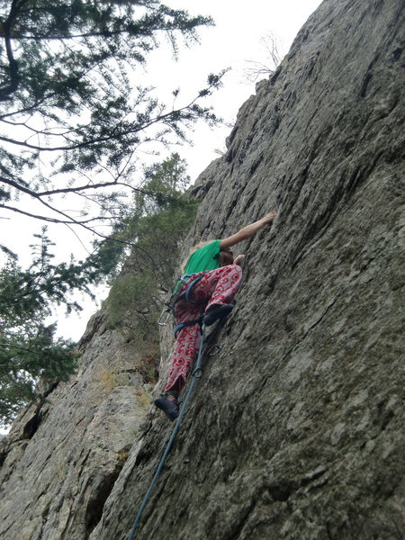 Rock Climbing Photo: Katie K. Oct 2014.