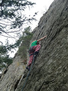 Rock Climbing Photo: Katie K. Oct 2014.