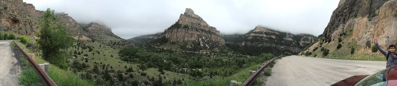 Rock Climbing Photo: Tensleep Canyon, WY