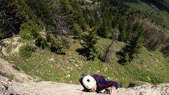 Rock Climbing Photo: En route in Tensleep, WY