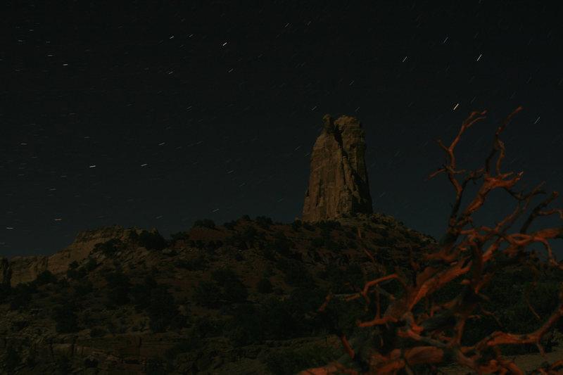 Rock Climbing Photo: Nocturnal Turkey Tower