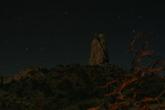 Rock Climbing Photo: Nocturnal Turkey Tower