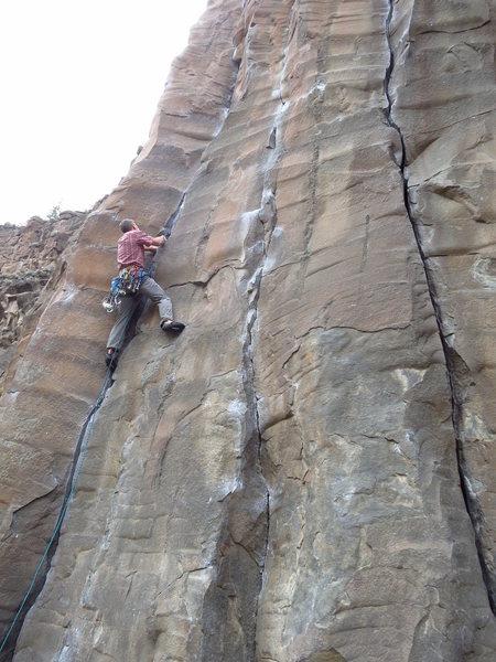 Rock Climbing Photo: Cruel Sister