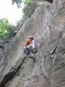 Rock Climbing Photo: Dracula, Broughtans