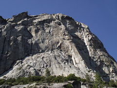 Rock Climbing Photo: North Dome as viewed from near Zumwalt Meadow