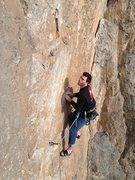 Rock Climbing Photo: And