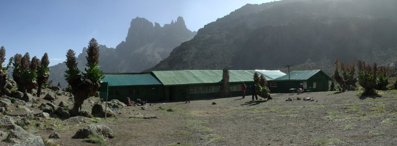 Rock Climbing Photo: Shipton's Camp (aka Base Camp) and the last amenit...