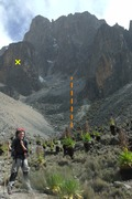 Rock Climbing Photo: En-route to Kami Hut, (which isn't a hut at all, m...
