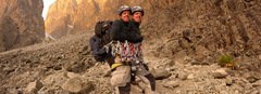 Rock Climbing Photo: The altitude made my partner see double at times. ...
