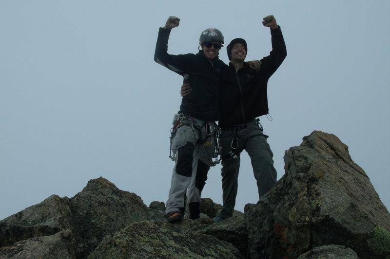 The summit! Oh the joy