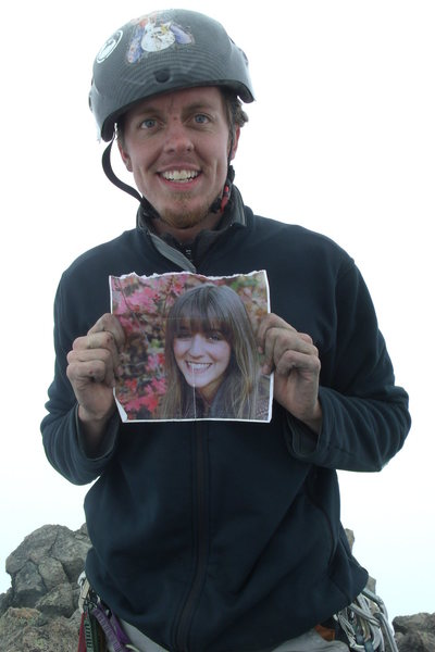 Rock Climbing Photo: And she was always with me!
