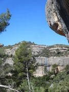 Rock Climbing Photo: Nat playing the hero