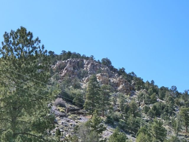 Quartzite Crags from Hwy 18, Big Bear North