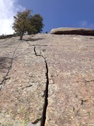 Rock Climbing Photo: Sorry, another shot of the beautiful crack.