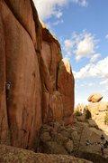 Rock Climbing Photo: Getting pumped.