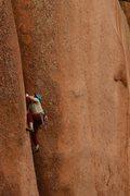 Rock Climbing Photo: Delicate....
