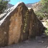 The triangle boulder