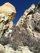 Rock Climbing Photo: After scrambling up toward the Spire on the West s...