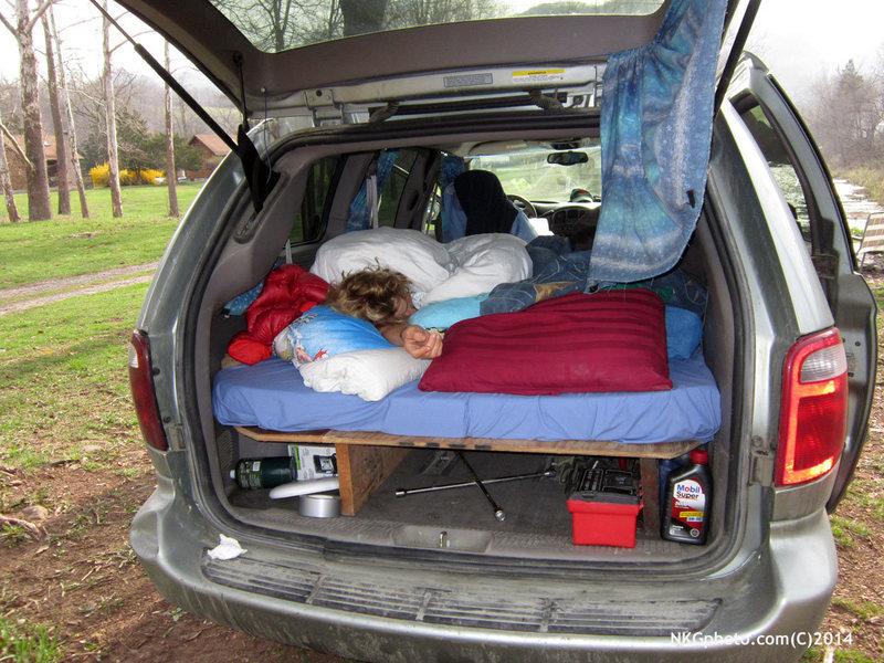 alpine start car camping style :)