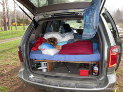 Rock Climbing Photo: alpine start car camping style :)