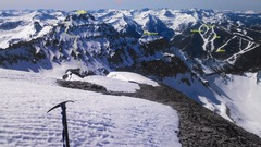 Rock Climbing Photo: From top of Gilpin, looking at the N Face of Emma ...