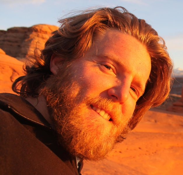 Head shot of me at Delicate Arch near Moab, UT.