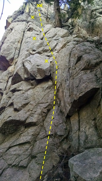 Easily protected, great beginner trad/sport lead.