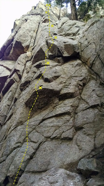 Rock Climbing Photo: Fun climb, good protection.