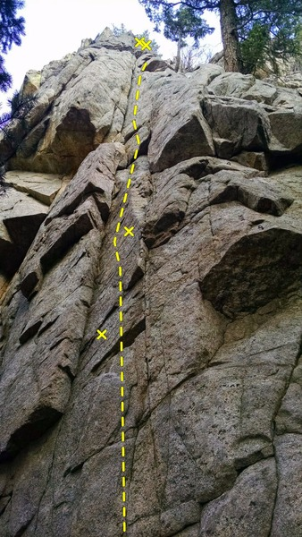 Rock Climbing Photo: Wonderful climb.