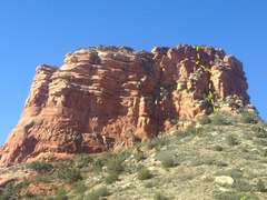 Rock Climbing Photo: This is the South Tower, viewed from the North.