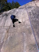 Rock Climbing Photo: Slabby centre portion of main quarry slab. This al...
