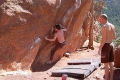 Rock Climbing Photo: erosion