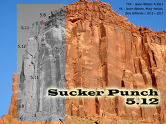 Rock Climbing Photo: Overview Image for Sucker Punch