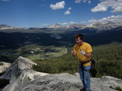 Rock Climbing Photo: Beautiful summit.  The climber...eh, not so much.