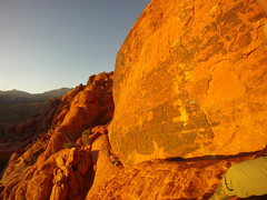 Rock Climbing Photo: Panty wall (first pullout)