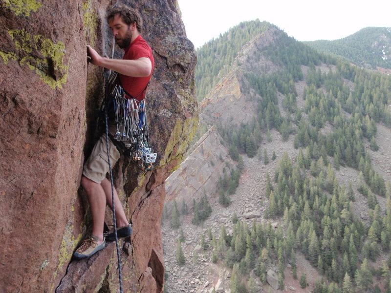 Rock Climbing Photo: Pitch two of Chianti.
