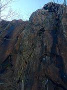 Rock Climbing Photo: Tasmanian Pain